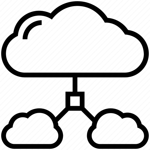 cloud, cloud computing, cloud network, cloud sharing, network sharing icon