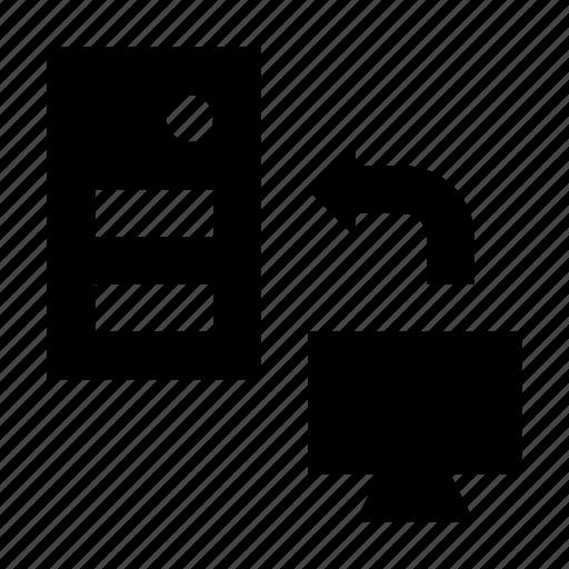 data sharing, data transferring, data transmission, server computer, server sharing icon