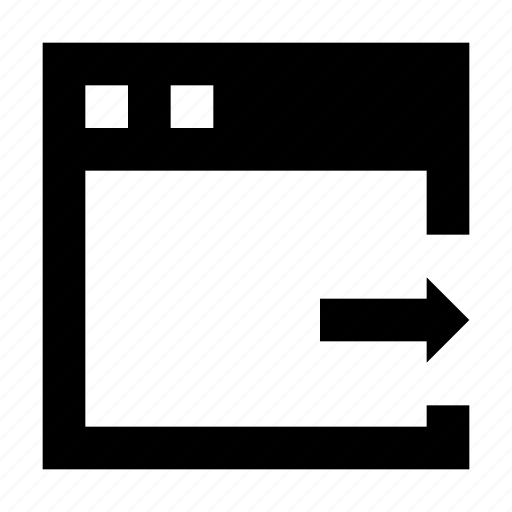 export data, export file, webpage, website, window icon
