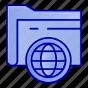 fie, folder, globe, storage