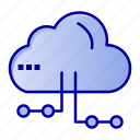 cloud, computing, network, share icon