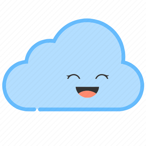 cloud, clouds, cloudy, emoji, emoticons, weather icon