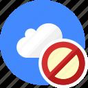block, cloud, cluouding, error, stop