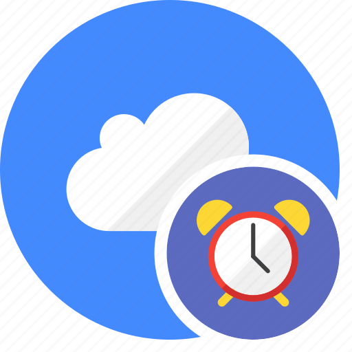 clock, cloud, cluouding, history, schedule, time icon