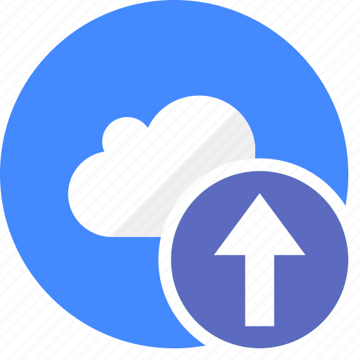 arrow, cloud, cluouding, direction, up, upload icon