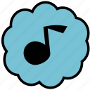 communication, music, player, sound, ui icon