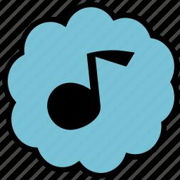 communication, music, player, sound, ui icon