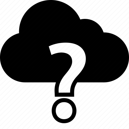 ask, cloud, question icon