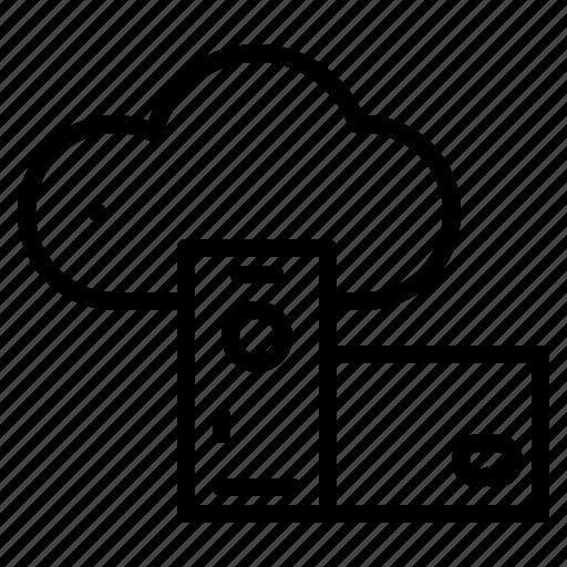 Cloud, hosting, network, internet, storage icon - Download on Iconfinder