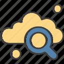 cloud, find, search