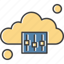 cloud, options, weather icon
