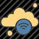 cloud, weather, wifi