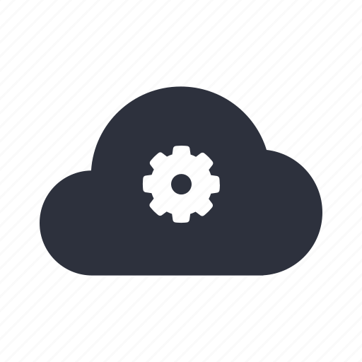cloud, computing, general, machine, network, preferences, settings icon