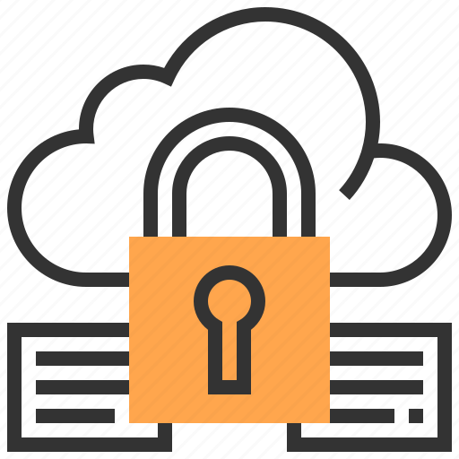 cloud, information, internet, network, protect, security, service icon