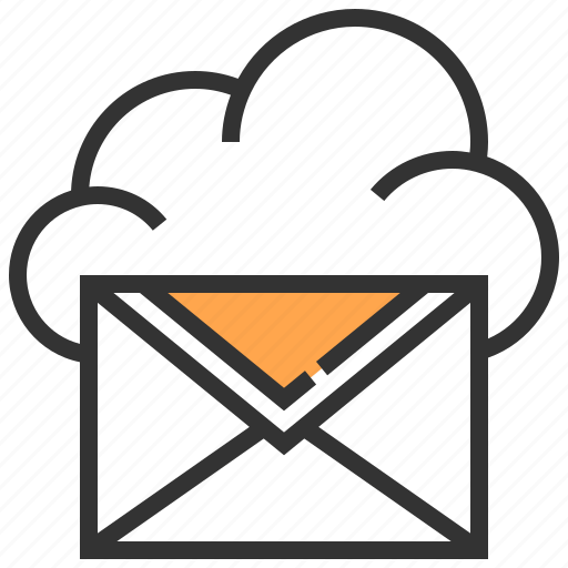 Cloud, information, internet, network, service, technology, mail icon - Download on Iconfinder
