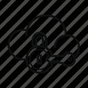 cloud, key, lock, private cloud, protection, secure, storage