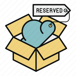box, cloud, package, pool, reservation, storage icon