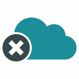 cloud, disconnect, exit, log out, logout, power button, turn off icon