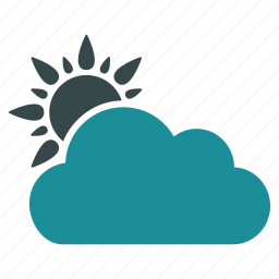 cloud, clouds, forecast, predict, prediction, sun, weather icon
