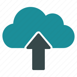 cloud, download, export, move, send, transfer, upload icon