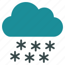 cloud, cold, frozen, snow, snowflake, weather, winter icon