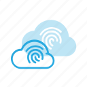 cloud, computing, id, protect, touch icon