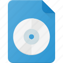 acd, audio, file, music, sound icon