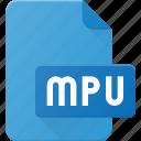 audio, file, mpu, music, playlist, sound icon