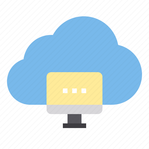 cloud, computer, storage, technology icon