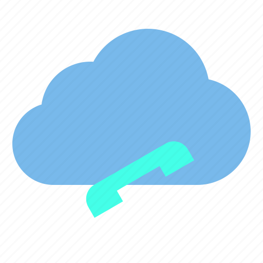 cloud, contact, storage, technology icon