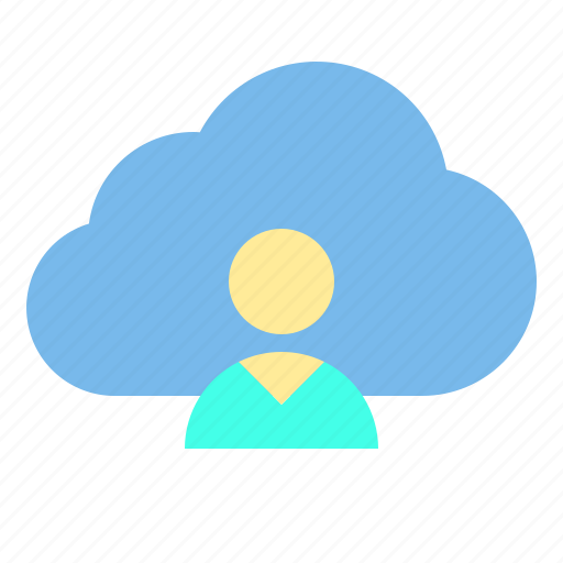cloud, data, personal, storage, technology icon