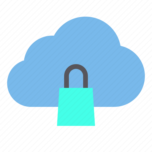 cloud, shopping, storage, technology icon