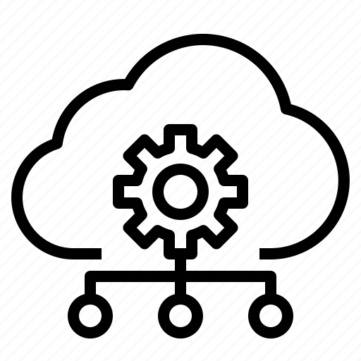 client, cloud, hosting, storage, technology icon