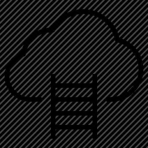cloud, storage, technology icon