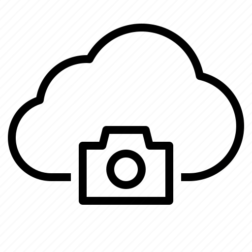 cloud, photo, picture, storage, technology icon