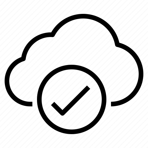 cloud, safe, storage, technology icon