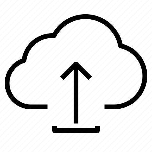 cloud, storage, technology, upload icon