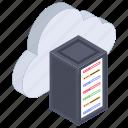 cloud backup, cloud computing, cloud hosting, cloud server, cloud storage icon