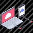 cloud app, cloud computing, cloud connection, cloud network, cloud storage, cloud technology icon