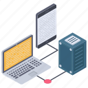 centralized network, data exchanging, data sharing, file sharing, server hosting