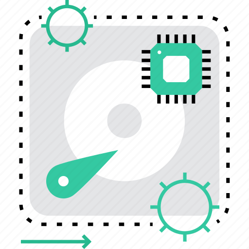 Chipset, computer, cpu, drive, hardware, hdd, motherboard icon - Download on Iconfinder