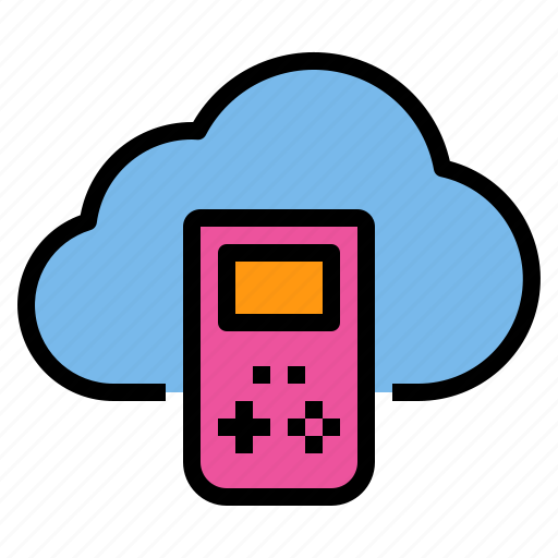cloud, game, storage, technology icon