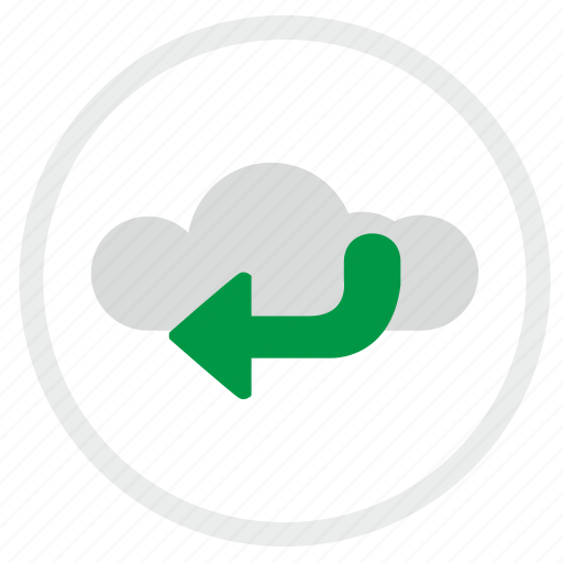 access, cloud, enter, technology icon