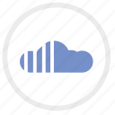 cloud, loading, storage, technology icon