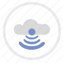 cloud, free, internet, technology, wifi icon