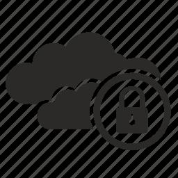 api, cloud, lock, secure, security icon