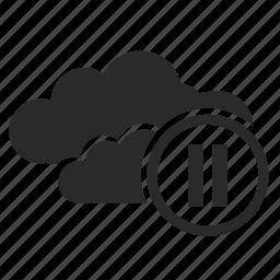 business, cloud, communication, connection icon