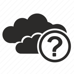 api, business, cloud, connection, question icon