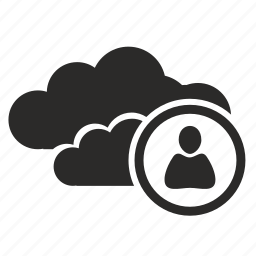 business, cloud, connection, login icon