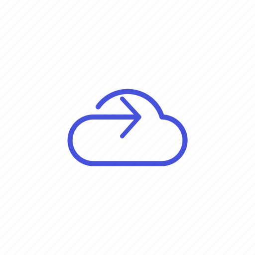 cloud, platform, share, storage, upload icon